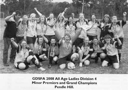 2008 All Age Ladies Division 4 - Grand Champions