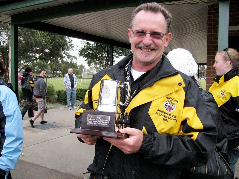 Bill Gurney With 45-1's Trophy