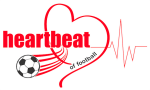 Heartbeat of Football Logo