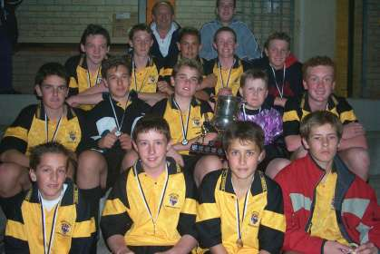2002 Under 15 Thistle Cup Winners