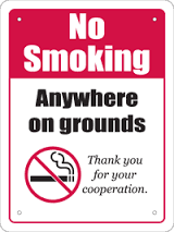No Smoking In Sports Grounds