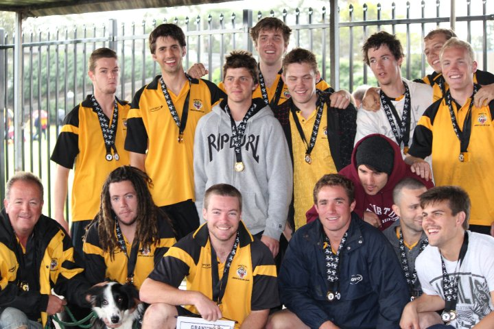 2010 Senior 2's Grand Champions and Minor Premiers